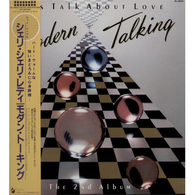 Modern Talking - LP - JAP - Let's Talk About Love