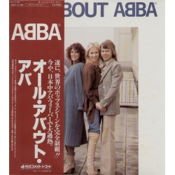 Abba - LP - JAP - All About Abba - Red Obi 2