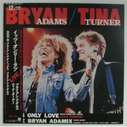 "Adams, Bryan & Turner, Tina -12"" JAP - It's Only Love"