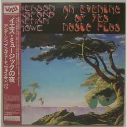 Yes - 2 Laserdisc - JAP - Anderson, Bruford, Wakeman, Howe An Evening Of Yes Muisic Plus...