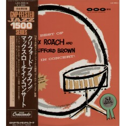 Brown, Clifford - LP - JAP - The Best Of Max Roach and Clifford Brown