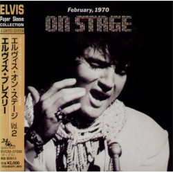 Presley, Elvis - LP - JAP - On Stage February, 1970
