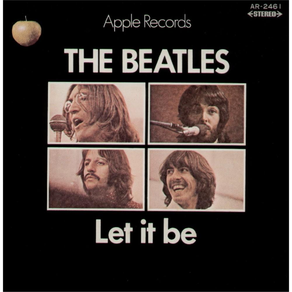 """Beatles - 7"""" - JAP - Let It Be"""