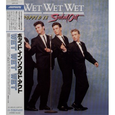 Wet Wet Wet - LP - JAP - Popped In Souled Out