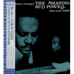 Bud Powell, The Amazing - LP - JAP - The Scene Changes - BLUE NOTE