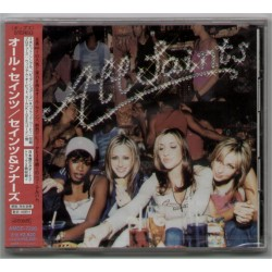 All Saints - CD - JAP - Saints & Sinners - PROMO SEALED
