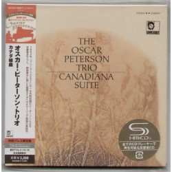 Peterson, Oscar - CD - JAP - Canadiana Suite - SEALED