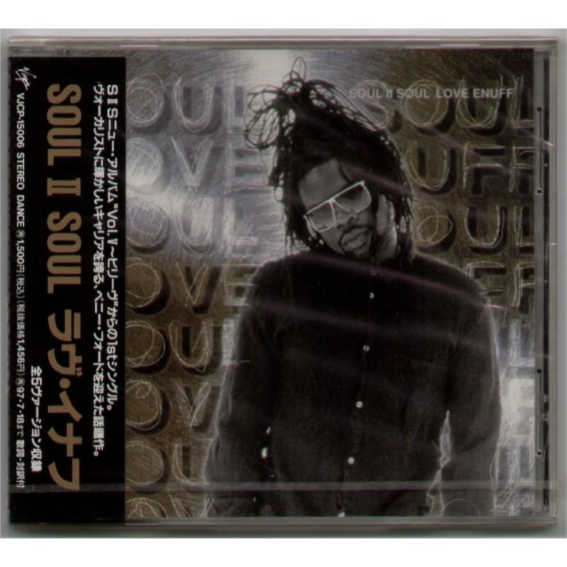 Soul II Soul - CD - JAP - Love Enough - SEALED