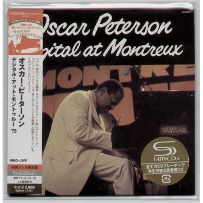 Peterson, Oscar - CD - JAP - Capital At Montreux - SEALED