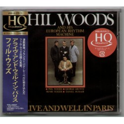 Woods, Phil - CD - JAP - Alive And Well In Paris - SEALED