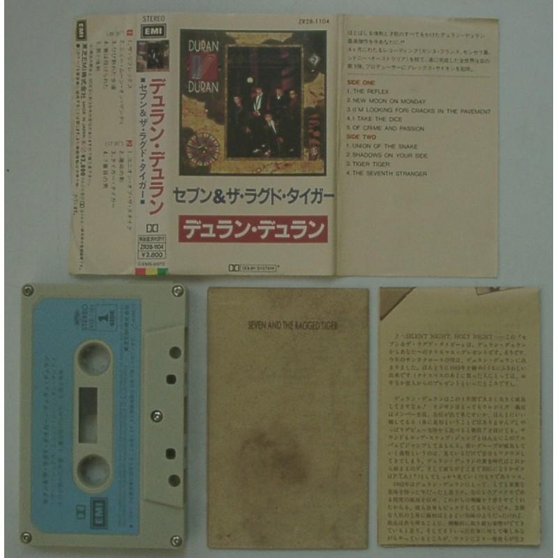 Duran Duran - MC - JAP - Seven and The Ragged Tiger