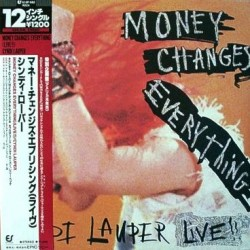 Lauper, Cyndi - LP - JAP - Money Change Everything