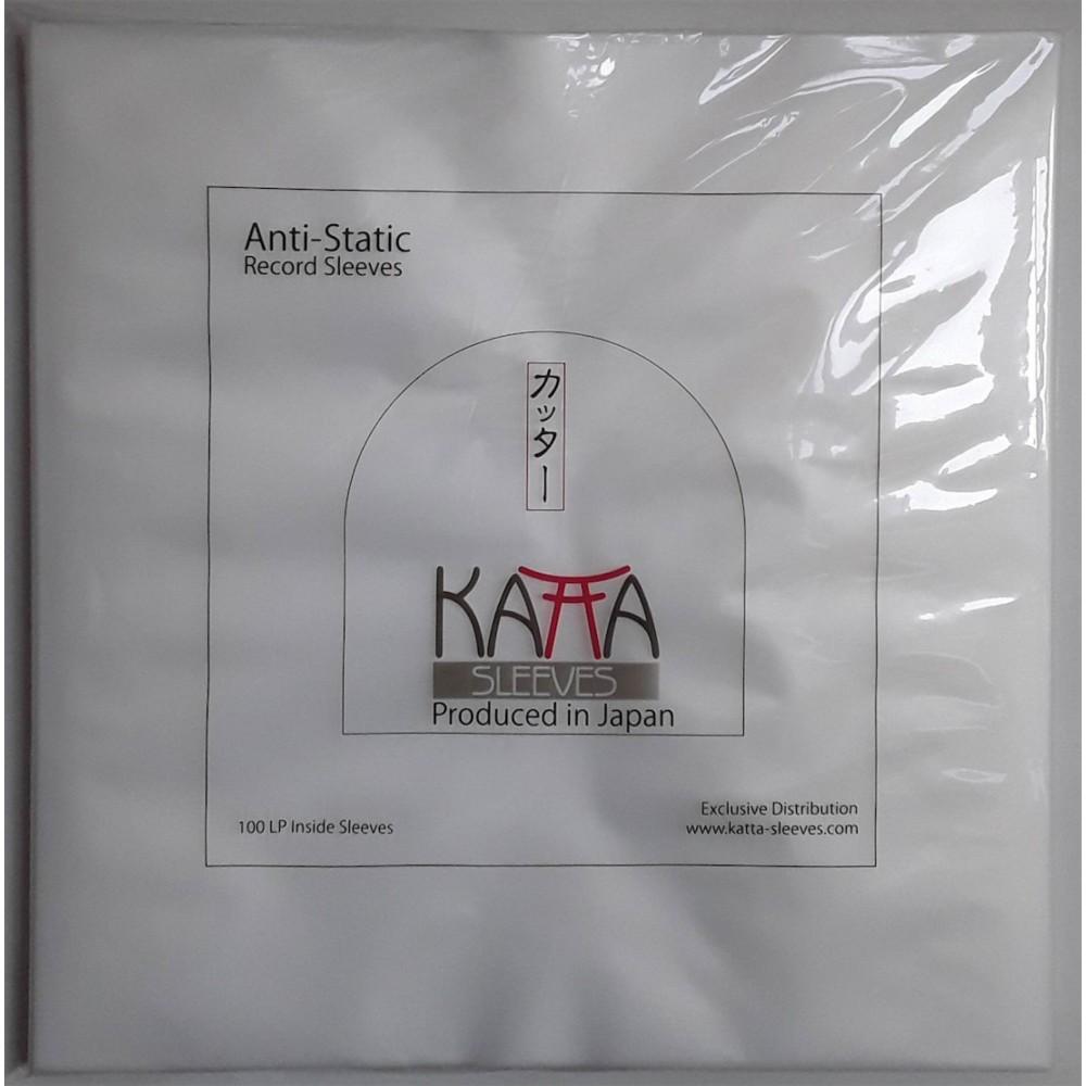 25 Stück - JAP - Katta LP Lined Innen Folie / Inside Sleeve