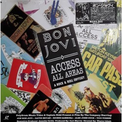 Bon Jovi - Laserdisc - JAP - Access All Areas