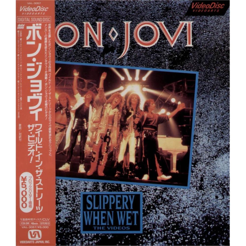 Bon Jovi - Laserdisc - JAP - Slippery When Wet - The Videos