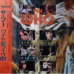 Who, The - Laserdisc - JAP - Live At The Isle Of Wight