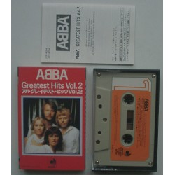 Abba - MC - JAP - Greatest Hits Vol. 2
