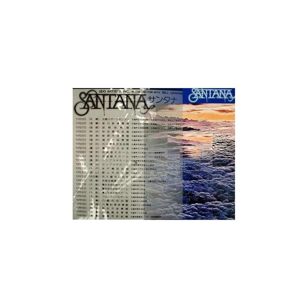 Santana - Tourbooks - JAP - 1973 Japantour