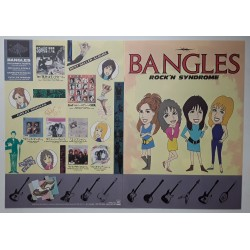Bangles - Flyer - JAP - Rock'n Syndrome - PROMO ONLY
