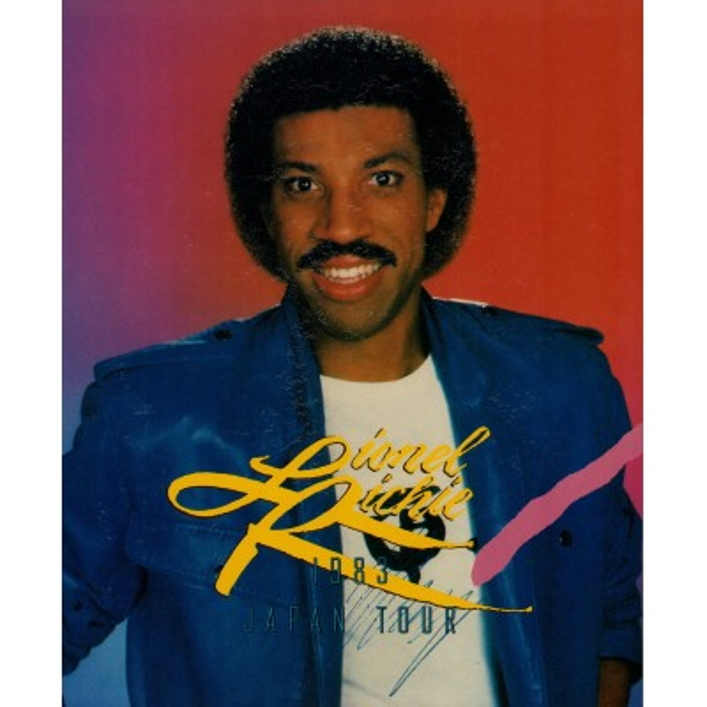 Ritchie, Lionel - Tourbooks - JAP - 1983 Japantour