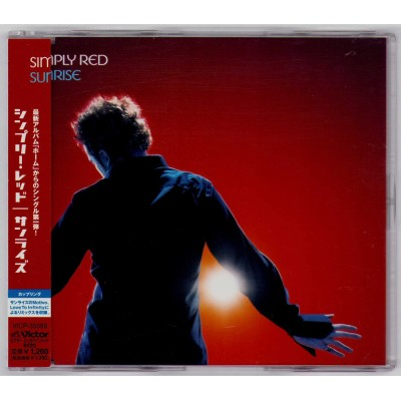Simply Red - CD - JAP - Sunrise - PROMO