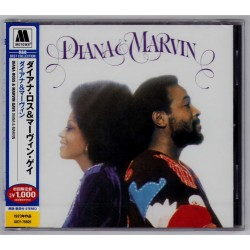Ross, Diana & Marvin Gaye - CD - JAP - Diana & Marvin - SEALED