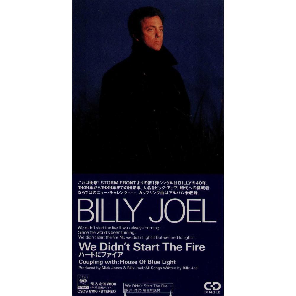 "Joel, Billy - 3"" CD - JAP - We didn't Start The Fire - PROMO"