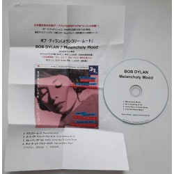 Dylan, Bob - CD-R - JAP - Melancholy Mood + Sheet - PROMO Only