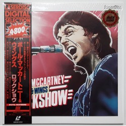 Wings - Paul McCartney - Laserdisc - JAP - Rock Show