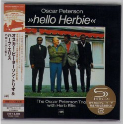 Peterson, Oscar - CD - JAP - Hello Herbie - SEALED
