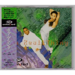 "2 Unlimited - 3"" CD - JAP - Real Thing - PROMO"