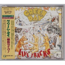 Green Day - CD - JAP - Live Tracks - PROMO