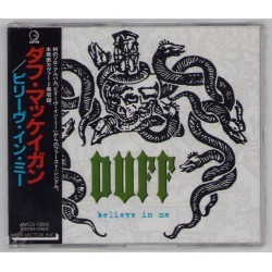Duff - CD - JAP - Believe In Me - SEALED - PROMO