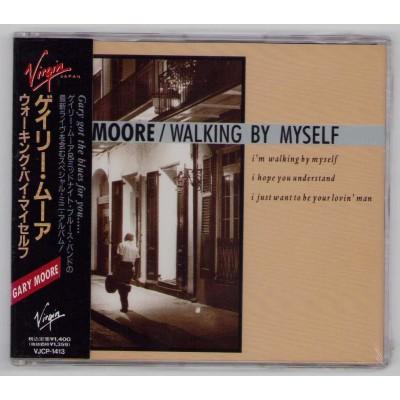 Moore, Gary - CD - JAP - Walking By Myself - SEALED - PROMO