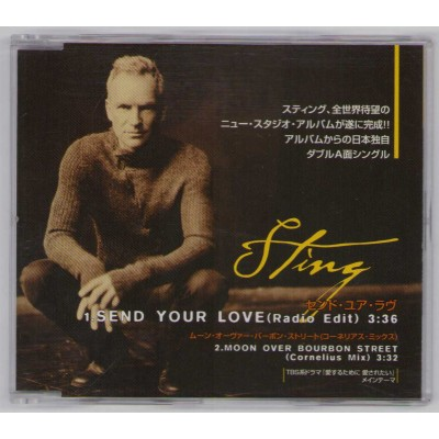 Sting - Police - CD - JAP - Send Your Love - PROMO Only