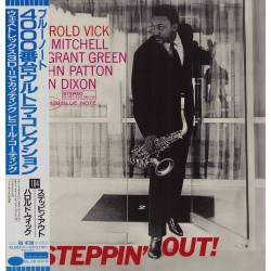 Vick, Harold- LP - JAP - Steppin' Out - BLUE NOTE