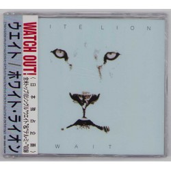 White Lion - CD - JAP - Watch Out! - PROMO -  SEALED