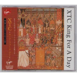 XTC - CD - JAP - King For A Day  - PROMO -  SEALED