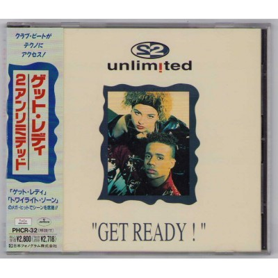 2 Unlimited - CD - JAP - Get Ready