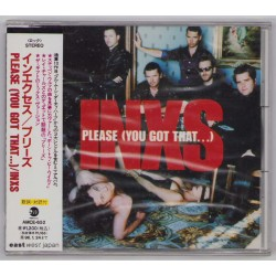 Inxs - CD - JAP - Please - PROMO - SEALED