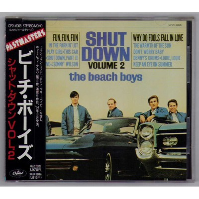 Beach Boys - CD - JAP - Shut Down Vol.2