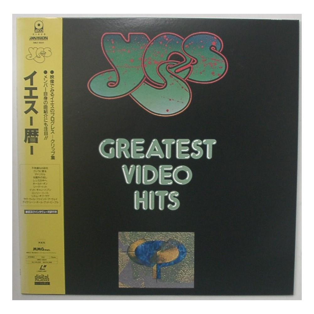 Yes - Laserdisc - JAP - Greatest Video Hits