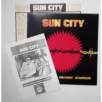 Sun City - LP - JAP - Artist United Against Apartheid - PROMO