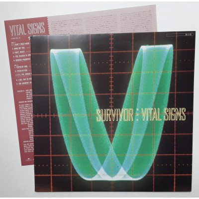 Survivor - LP - JAP - Vital Signs - PROMO