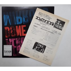 Aerosmith - MC - JAP - Done with Mirrors - PROMO + SHEET