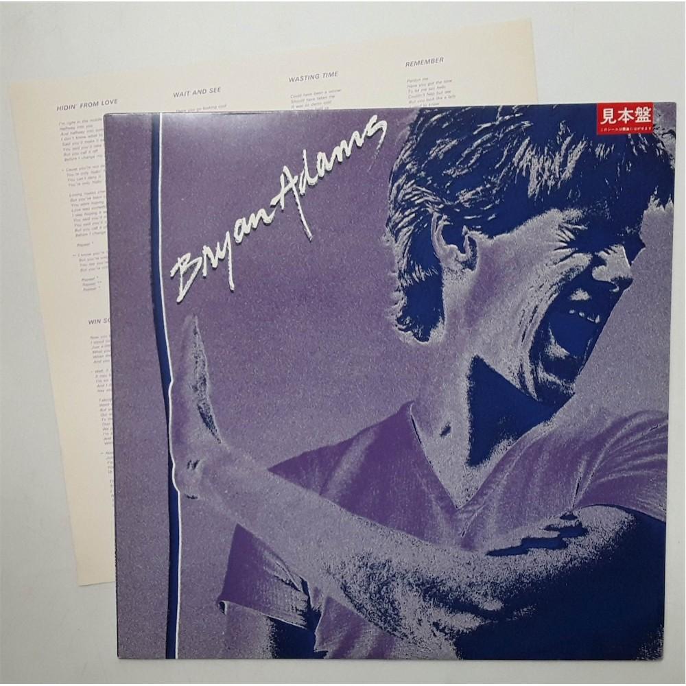 Adams, Bryan - LP - JAP - Bryan Adams - PROMO
