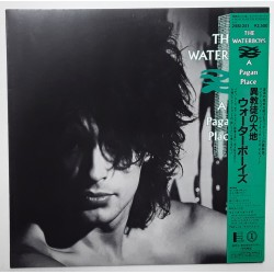 The Waterboys - LP - JAP - A Pagan Place - PROMO