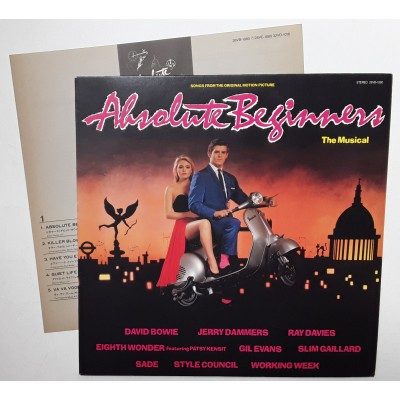 Absolute Beginners - LP - JAP - The Musical - PROMO