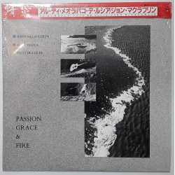 Al Di Meola - LP - JAP - Passion Grace & Fire