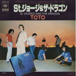 """Toto - 7"""" JAP - St. George And The Dragon"""